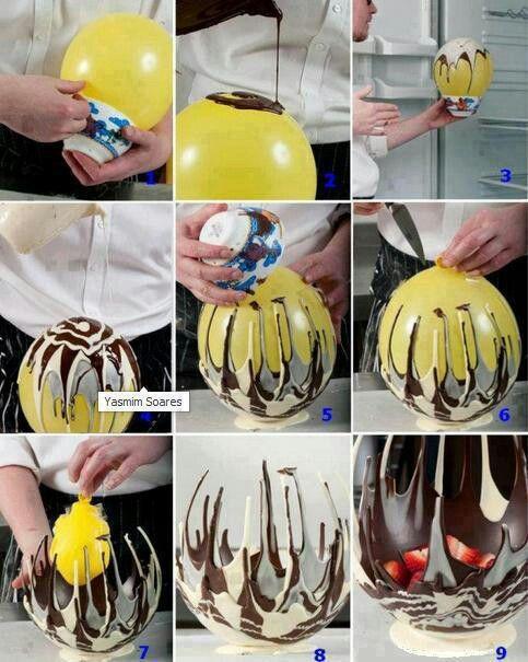 Chocolate bowl...awesome....