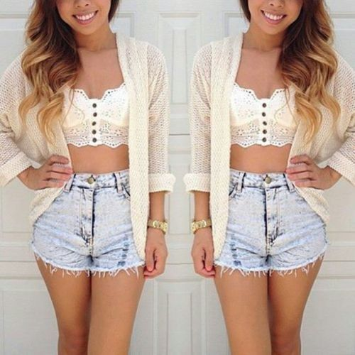 Tops On Shorts