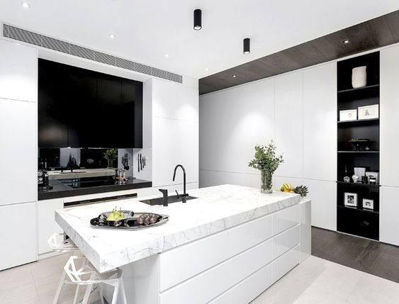 Architecton Designed Residences with Sophisticated Architectural Style in Melbourne