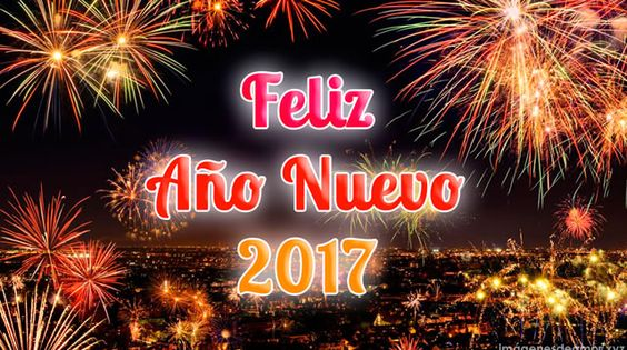Felicitaciones de año nuevo 2017
