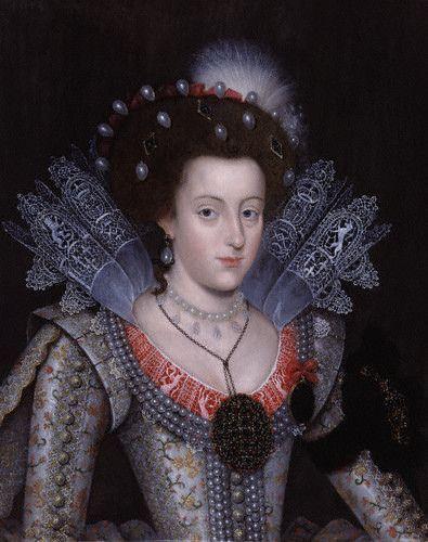 Elizabeth Stuart, Queen of Bohemia, daughter of James I, granddaughter of Mary Queen of Scots: