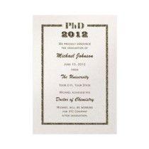 PhD graduation announcement