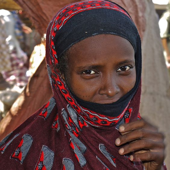 Afar woman - Ethiopia: