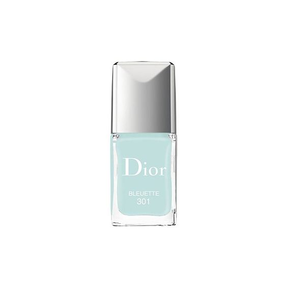 Dior Vernis Gel Shine and Long Wear Nail Lacquer in Bluette, $27 nordstrom.com