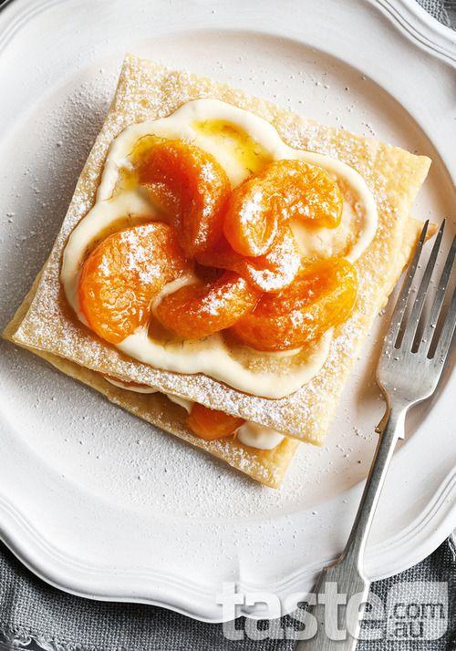 Mandarin & Vanilla Napoleon (Mille-feuille)