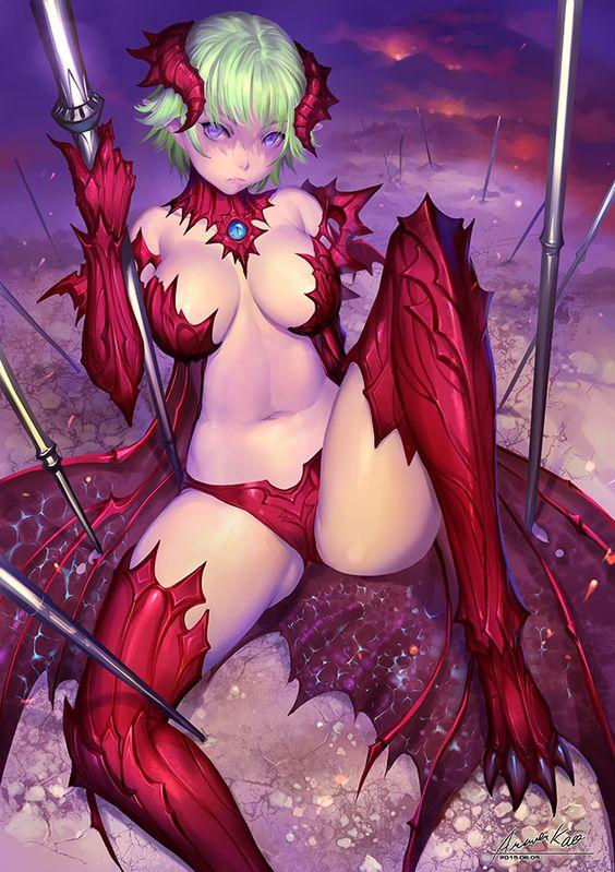 Dragon Girl by ariverkao on DeviantArt
