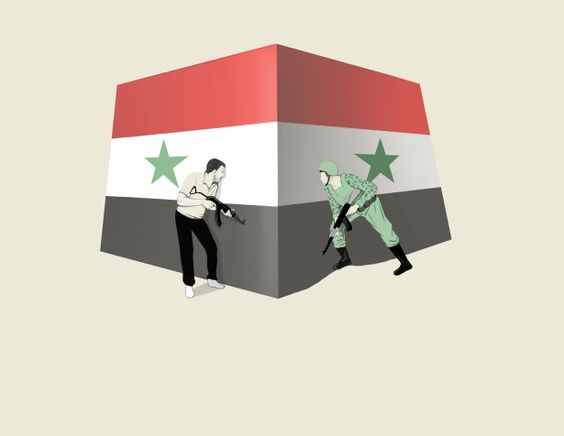 Marco Melgrati - Syria's civil war: