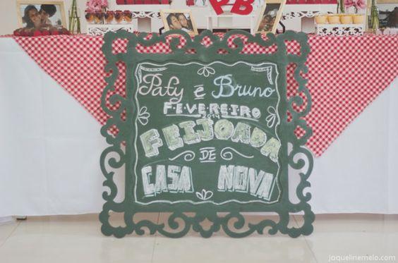 O chá bar de Patrícia e Bruno   Blog do Casamento