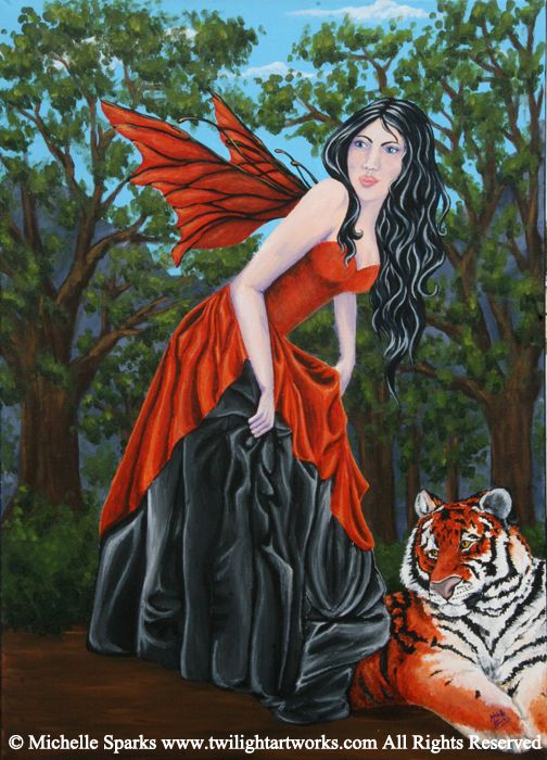 Tiger Lily by Michelle Sparks  Twilight Artworks