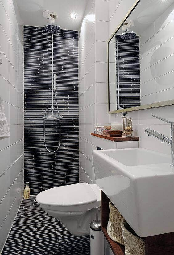 39 Galley Bathroom Layout Ideas To Consider White Bathroom Designs Modern Farmhouse Bathroom White Subway Tile Bathroom
