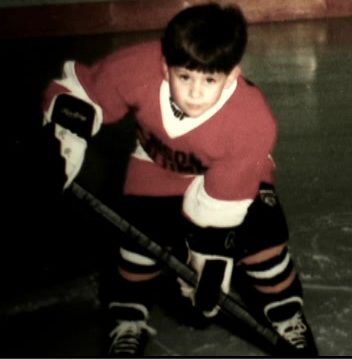 Adam Henrique.. how adorable is this??