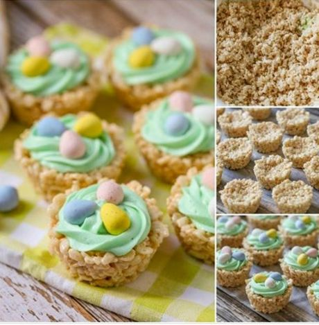 What a really super recipe to make with children are these rice krispies Easter basket cups , I am sure they will love to help to make them and of course eat them too, great to over The Easter Holidays