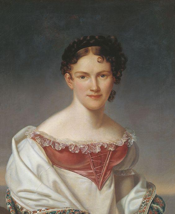 Avdotya Isthmian c 1820, Russian ballerina
