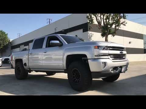 2018 Silverado Z71 King Shocks Dirt King Uca Method Wheels And