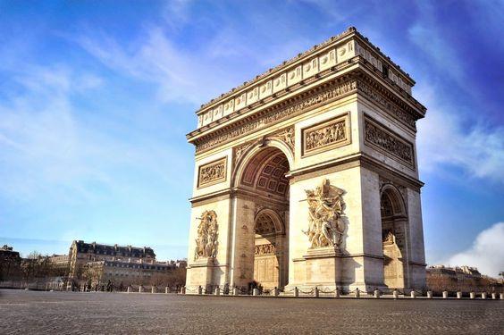 The Arc de Triomphe - Paris - France