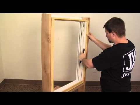How To Replace A Wood Window Jamb Liner Youtube Window Jamb Wood Windows Old Wood Windows
