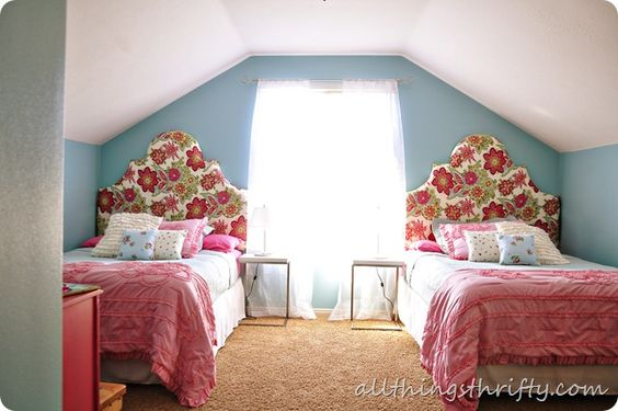 Future big-girl room inspiration! {All Things Thrifty}
