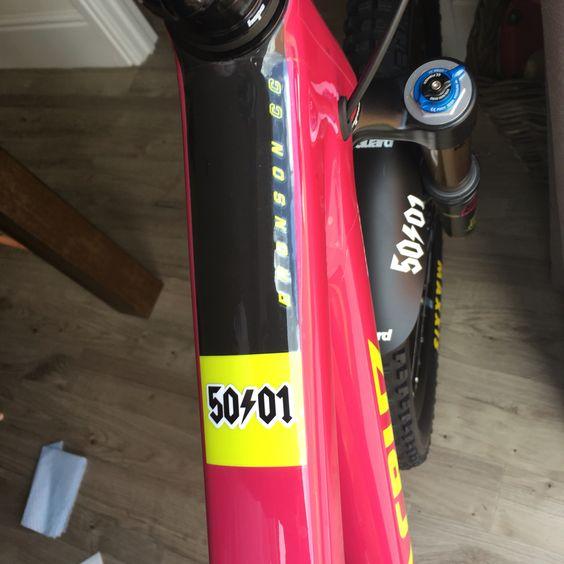 50to1 new bike