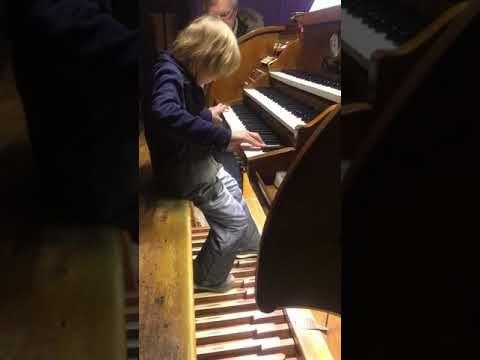 Elisey Mysin The First Experience Of Playing The Organ Elisej Mysin Vp Kafedralnyj Sobor Sobory Svyatye