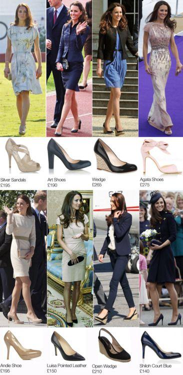 Como debe vestir la realeza :) siempre zapato cerrado
