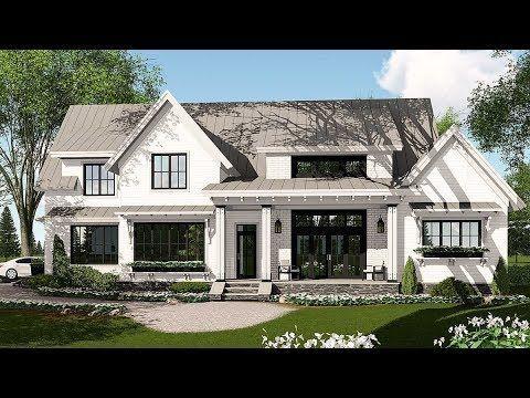 Plan 14662rk Modern Farmhouse