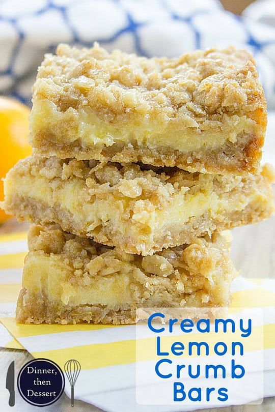 Creamy Lemon Crumb Bars Dinner Then Dessert Sweetened Condensed Milk Recipes Lemon Dessert Recipes Desserts