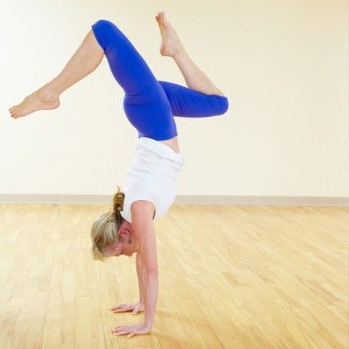 handstand yoga for beginners and yoga on pinterest