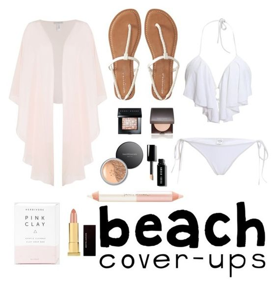 """Beach cover ups"" by laurenwilliams-10 ❤ liked on Polyvore featuring Shubette, Kevyn Aucoin, Laura Mercier, Jane Iredale, Bare Escentuals, Aéropostale, Bobbi Brown Cosmetics and coverups"