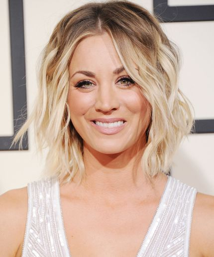 this is what it takes for kaley cuoco to become penny | kaley