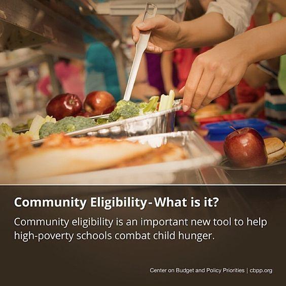 Community eligibility helps schools eliminate childhood hunger