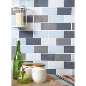 キッチンタイル サブウェイタイル カフェ風 磁器 タイル 内床壁用