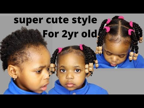 Try This Protective Hairstyles For Short Natural Hair 2year Old Kid Toddler Black Kid Lit Baby Hairstyles Toddler Hairstyles Girl Black Baby Girl Hairstyles