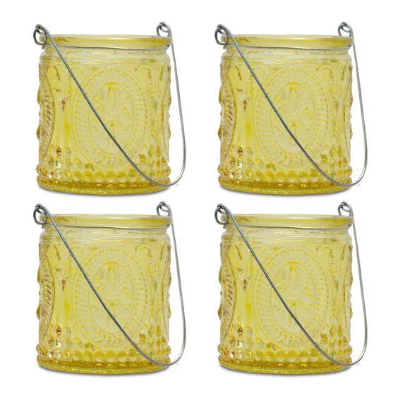 Fleur-de-Lis Hanging Tealight Holders