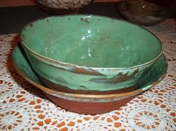 pair of green bowls