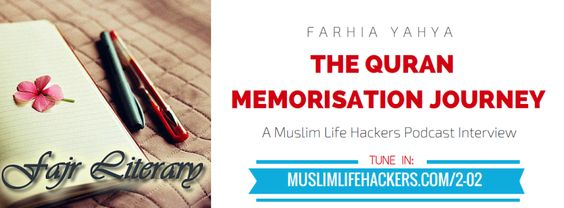 I was approached by the sisters from Muslim Life Hackers a few weeks ago about an interview they wanted to do on Hifdh al-Qur'an and discussions surrounding…
