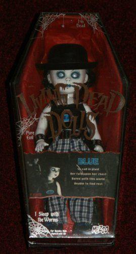 Amazon.com: Living Dead Dolls- Blue by Mezco: Toys & Games