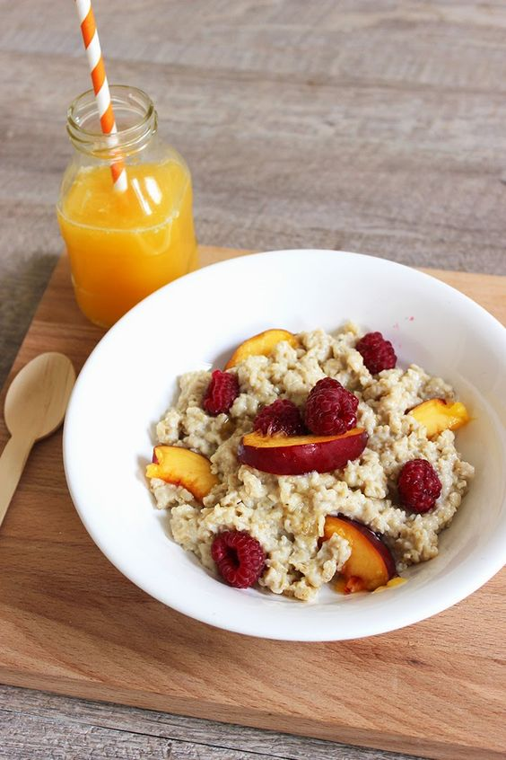 Blog Cuisine & DIY Bordeaux - Bonjour Darling - Anne-Laure: Porridge vanillé aux fruits frais plein d'énergie
