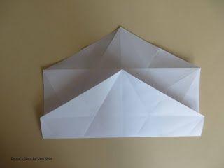 Origami, Fleurogami und Sterne: Emnet's Stern