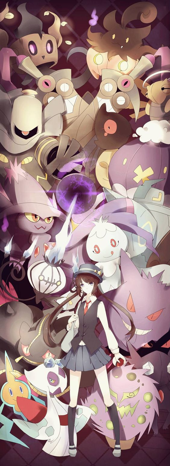 What kind of Pokemon trainer sets out on her adventure in her school uniform? But I love it xD