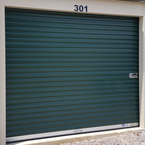 Doors Include Curtain Panels Tension Adjuster Axle Drums Track Stiffener Springs Latches And Hardware Kit Unique Garage Doors Garage Door Design Garage Door Styles