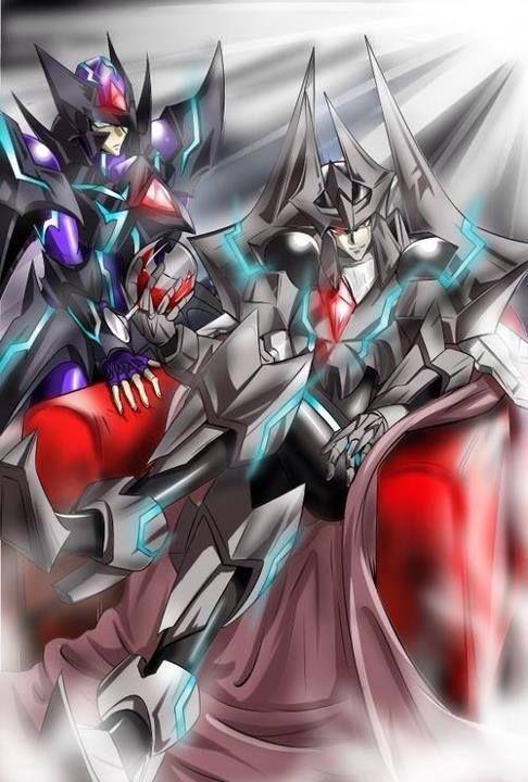 Blaster Dark and The Dark Dictator | CardFight Vanguard ...