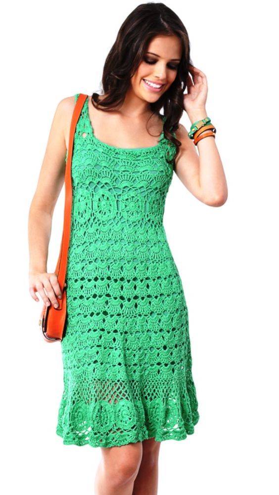 vestidos a crochet pinterest vestidos crochet dresses and