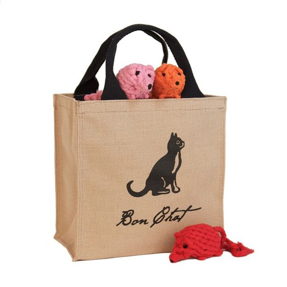 Harry Barker Kitty Mouse Gift Tote
