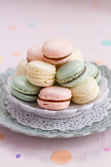 Pastel Macarons: Pastel, Pretty Pastel And Macaroons On Pinterest