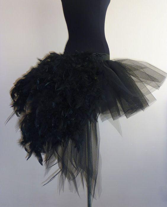 Black Swan Tutu skirt Burlesque all sizes by thetutustoreuk