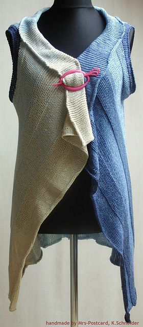 Ravelry: Carmen - ärmellose Weste pattern by Kirsten Schneider