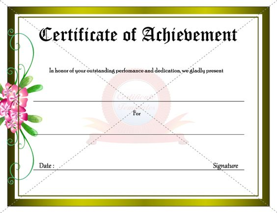 Army certificate of achievement template 123certificate army certificate of achievement template 123certificate templates certificate template certificate template pinterest yelopaper Gallery
