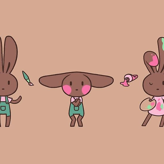 Cocoa Bunny Passion - now available on RedBubble!
