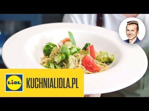 Spaghetti Z Pesto Brokulowym Karol Okrasa Kuchnia Lidla Youtube Food Pesto Spaghetti