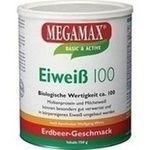 EIWEISS 100 Erdbeer Megamax Pulver rezeptfrei in der Versandapotheke
